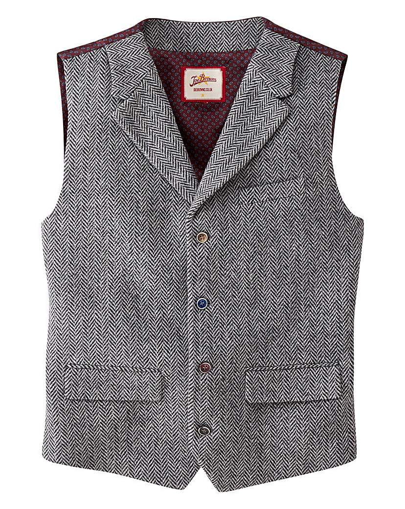 1900s Edwardian Men's Suits and Coats Joe Browns Mix It Up Waistcoat £50.00 AT vintagedancer.com