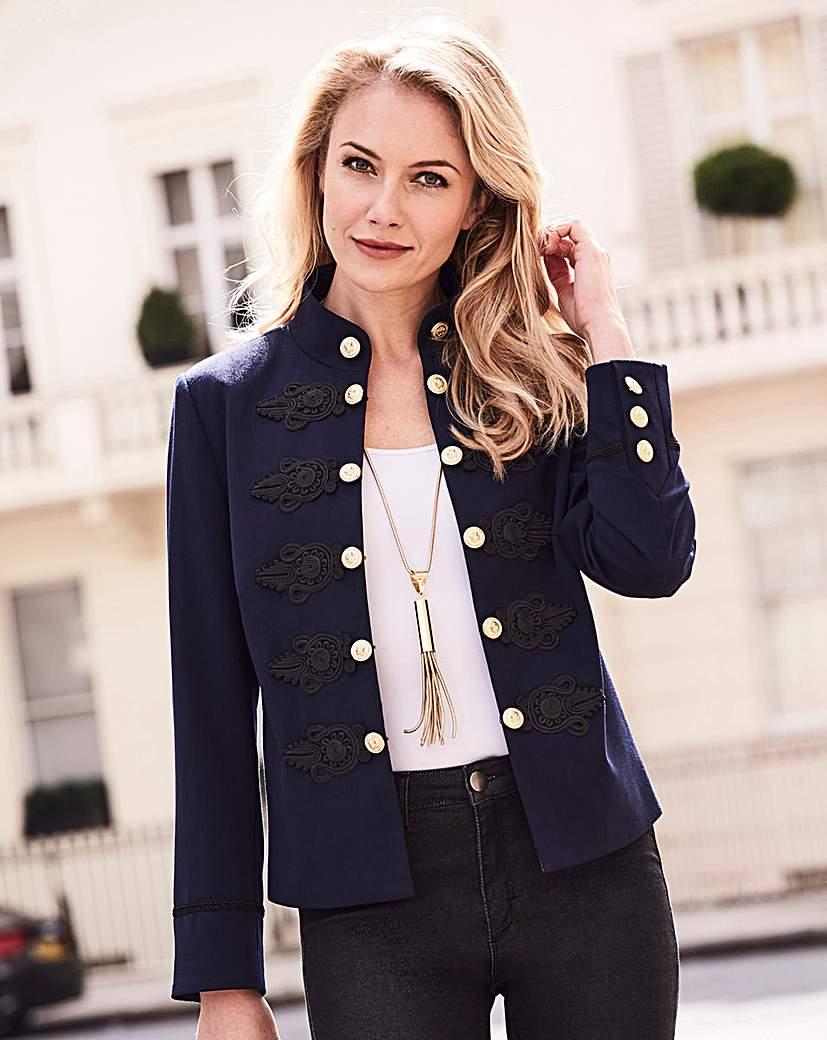 Joanna Hope Military Jacket