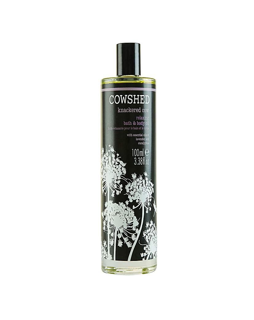 Knackered Cow Relaxing Bath  Body Oil