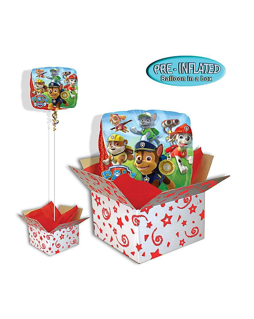 Paw Patrol Birthday Balloon In A Box