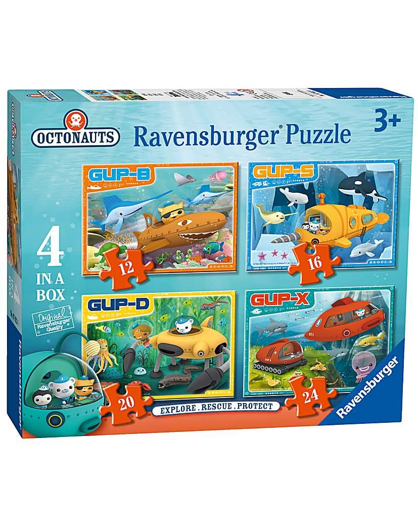 Octonauts Vehicle Jigsaw 4 in a Box