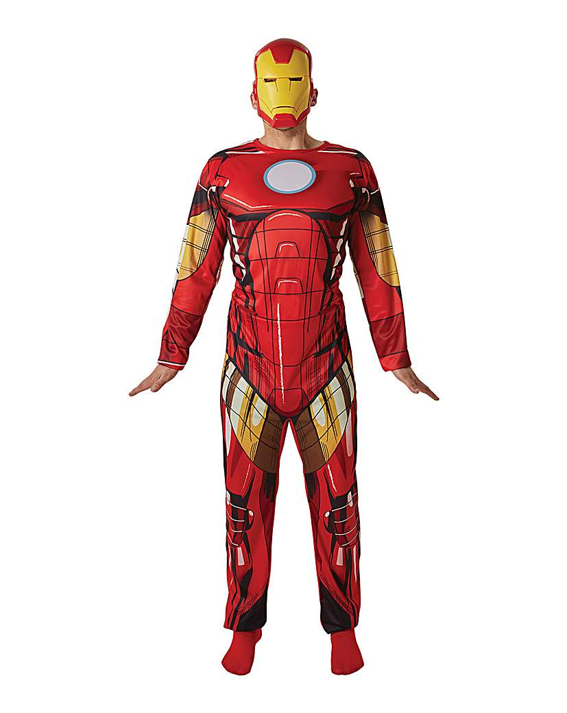 Image of Adult Classic Iron Man Costume