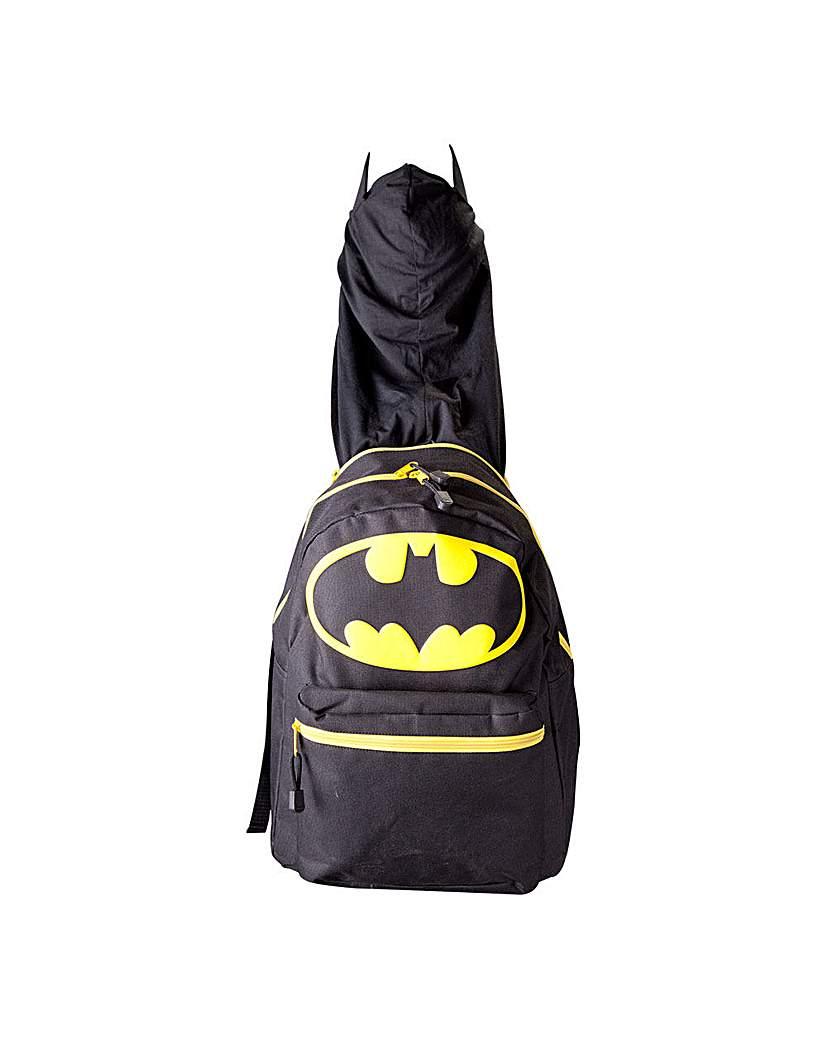 Image of Batman Hooded Backpack
