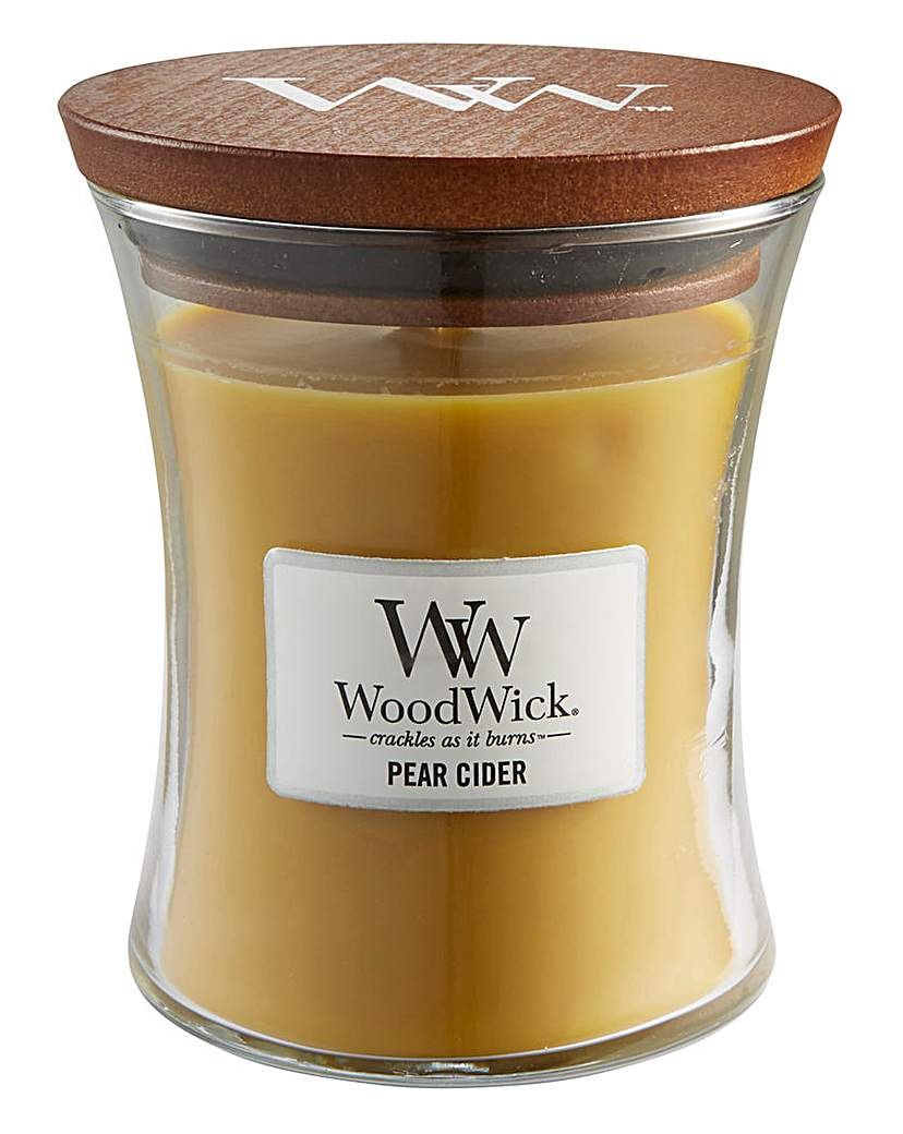 WoodWick Pear Cider Medium Jar Candle
