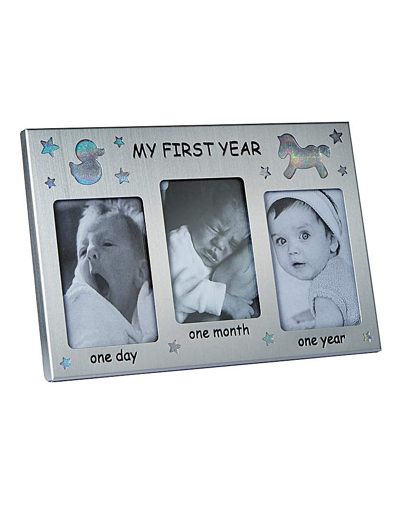 Image of Baby's First Year Frame