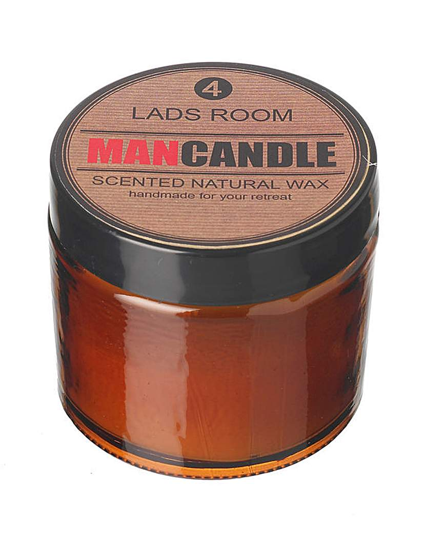 Man Candle - Lads Room
