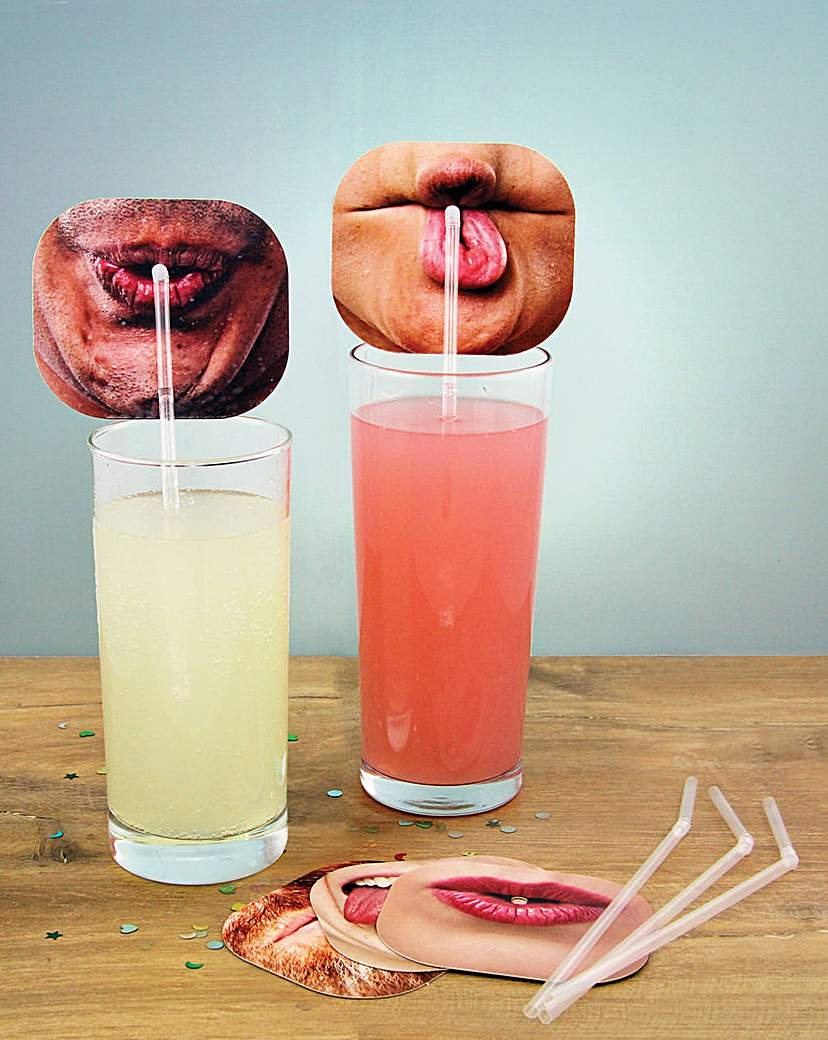 Image of Face Straws