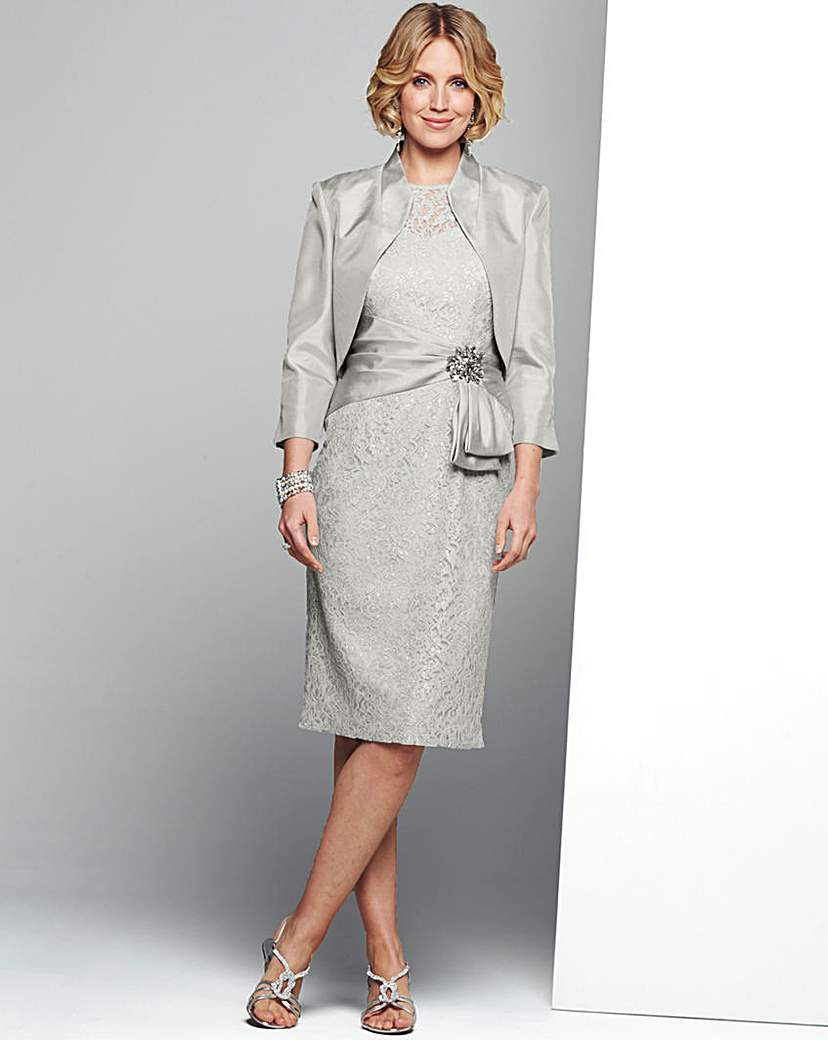 Nightingales Lace Dress and Bolero £140.00 AT vintagedancer.com