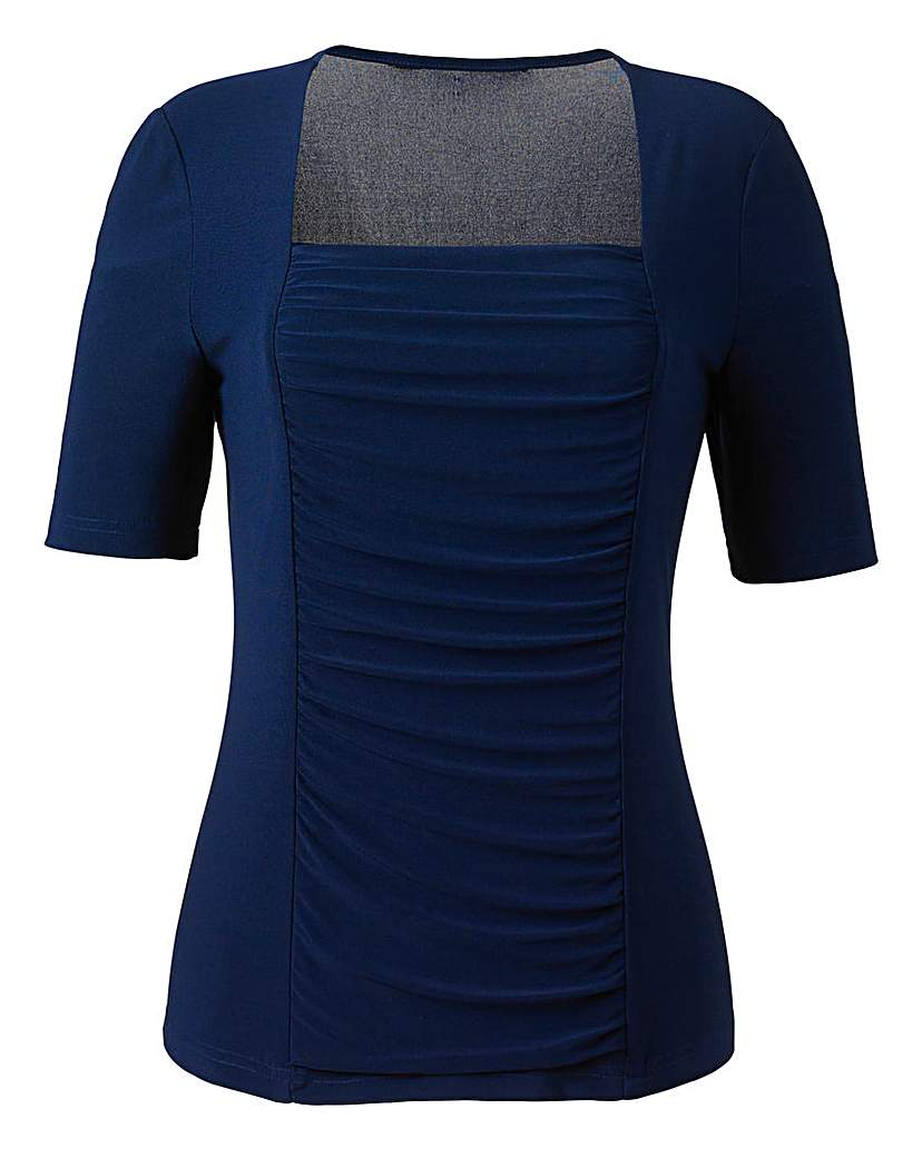 Nightingales Ruched Jersey Top