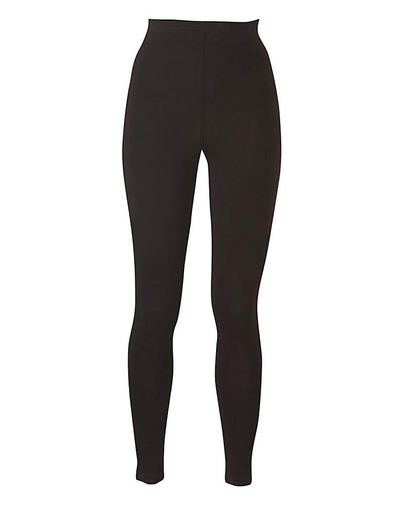Stretch Jersey Leggings Short