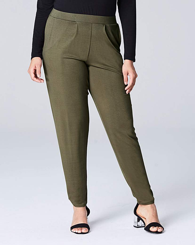 Stretch Jersey Harem Trouser Regular.