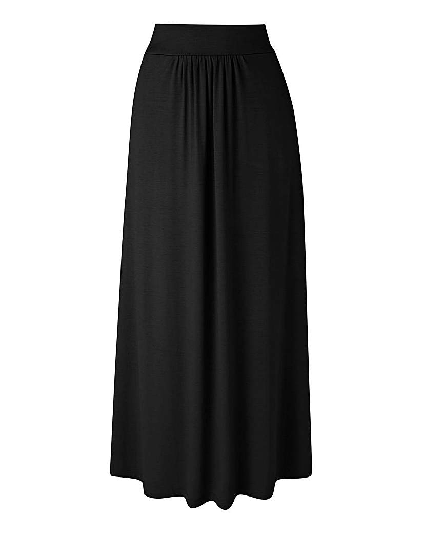 Jersey Skirt With Pockets