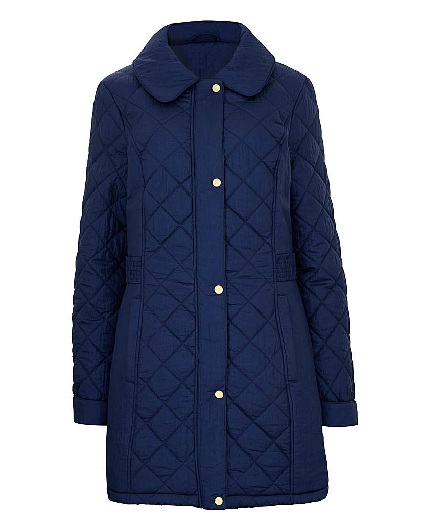 Diamond Quilted Jacket.