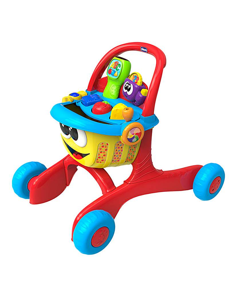 Image of Chicco First Steps Happy Shopping Walker