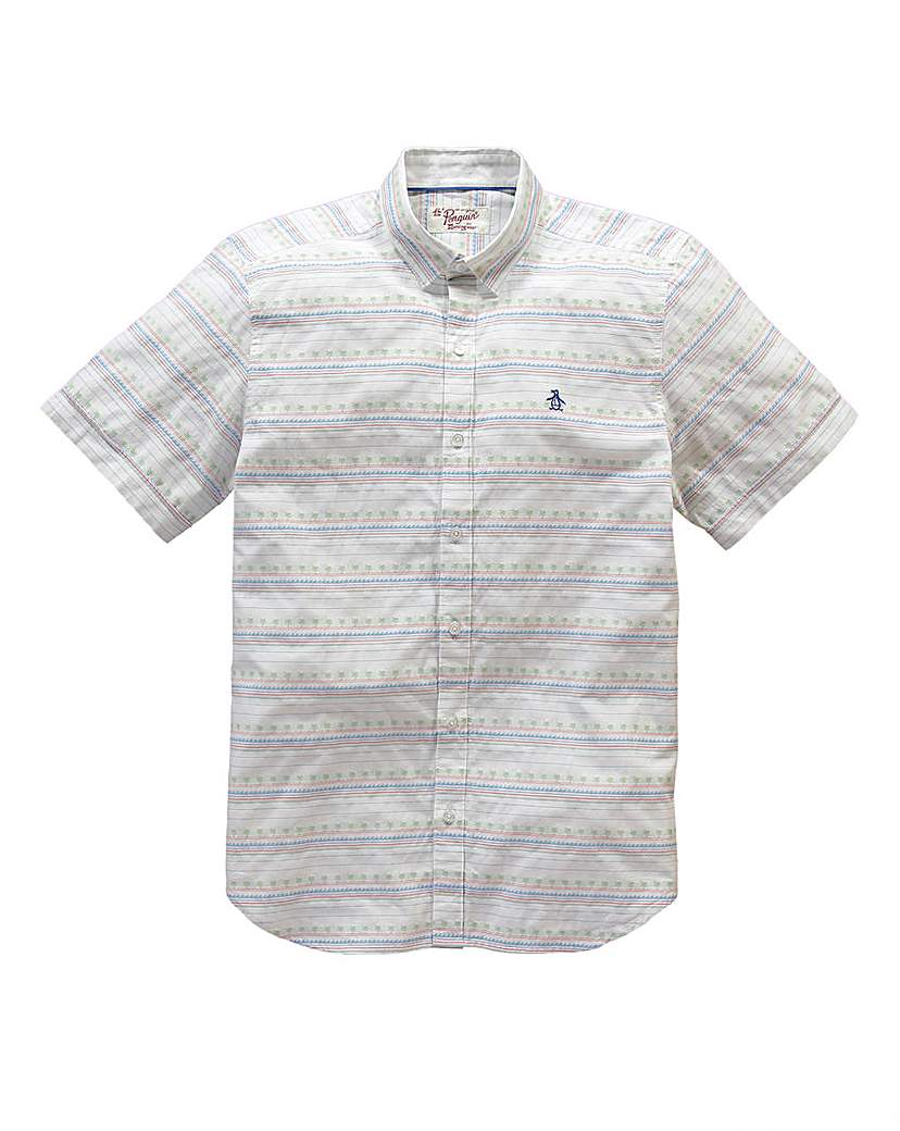 Image of Original Penguin Palm Tree Shirt L