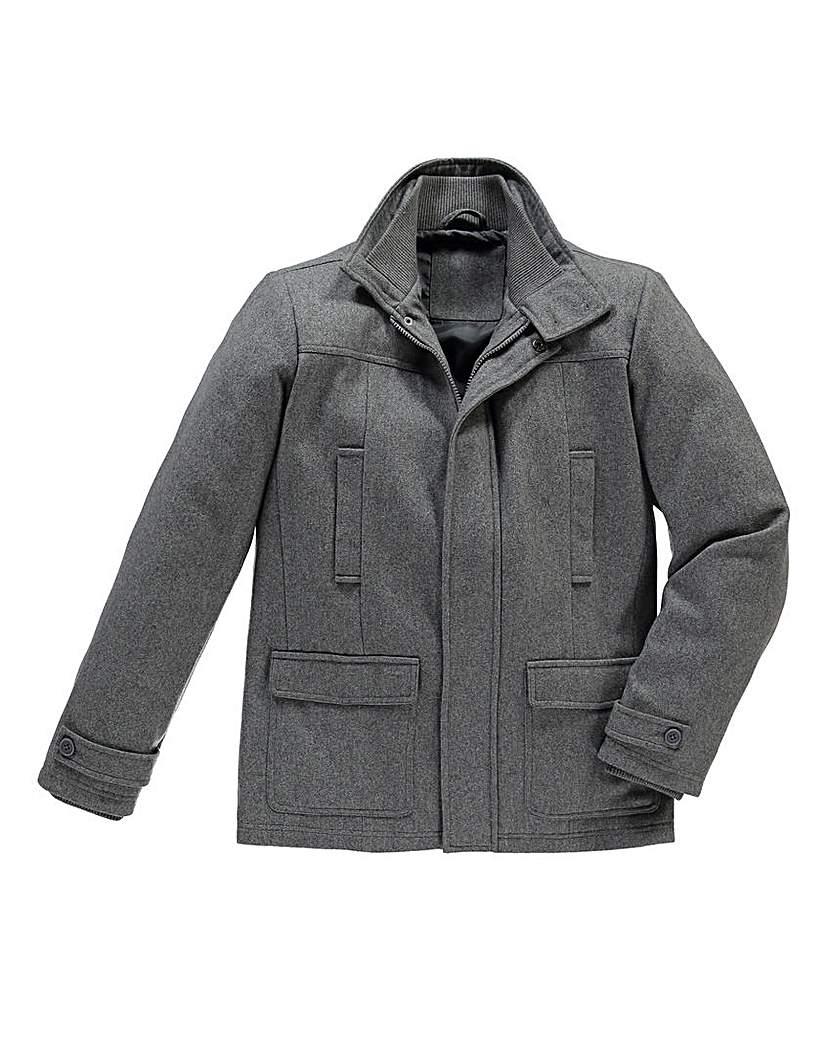 Jacamo Tidwell Wool Mix Coat