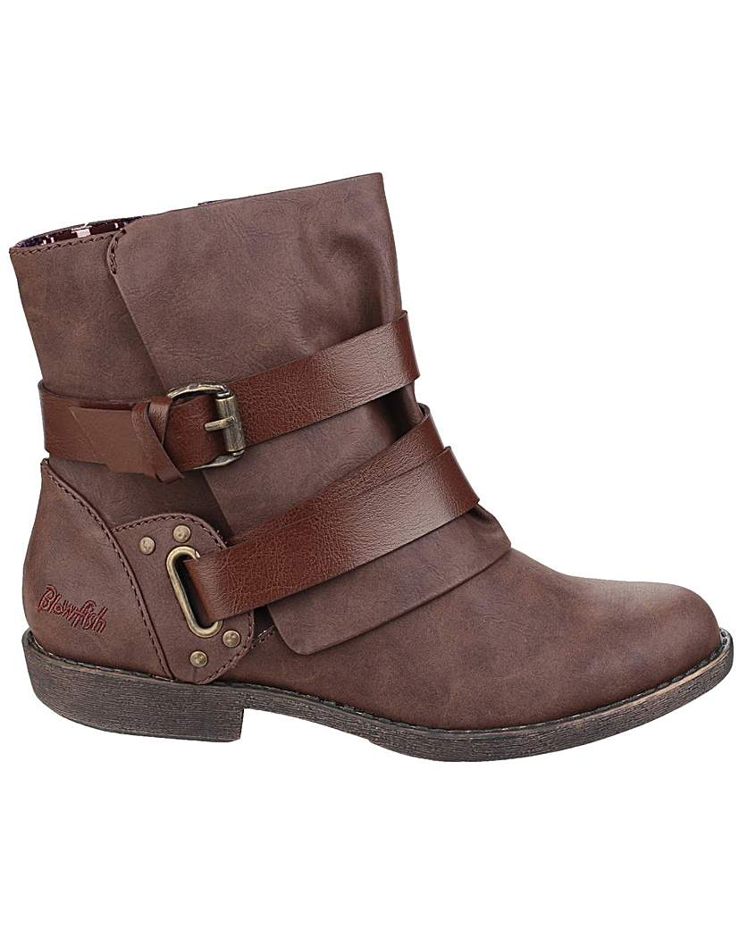 Image of Blowfish Alias Zip up Ankle Boot