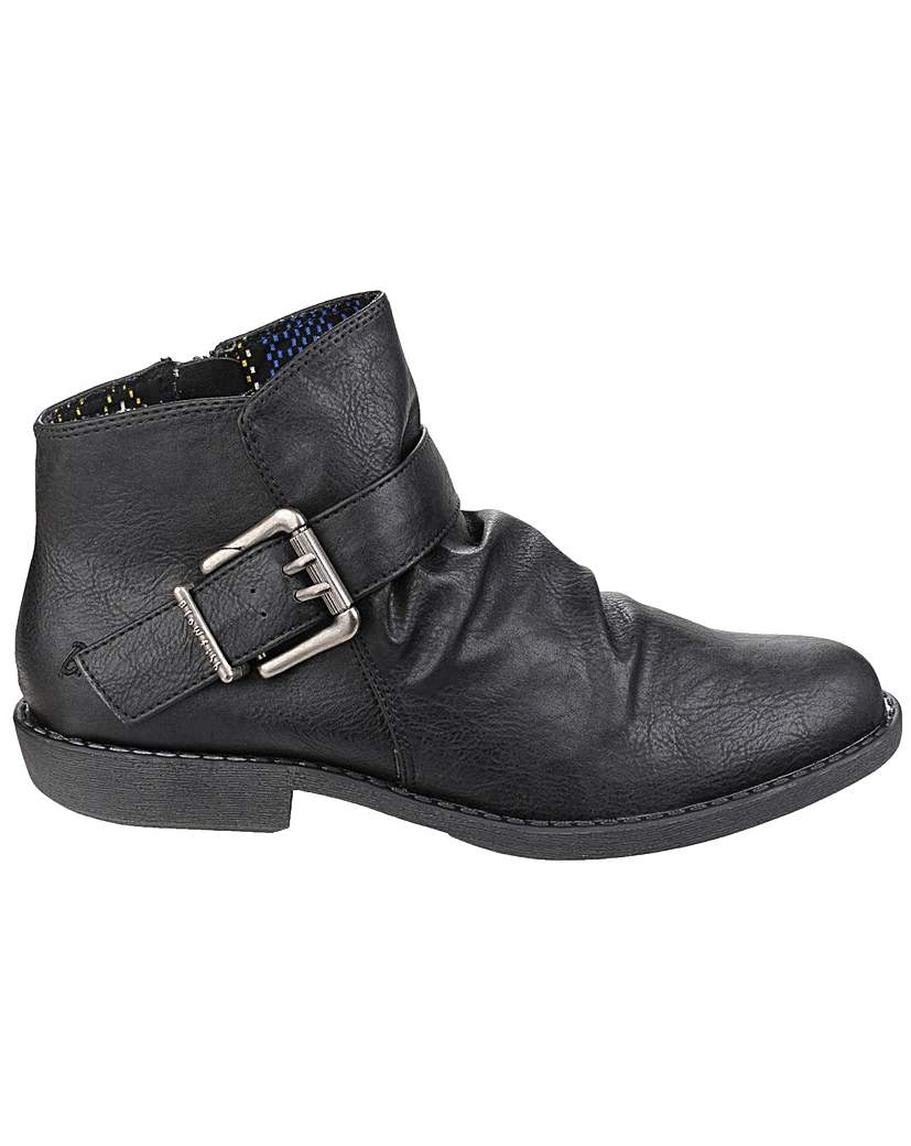 Image of Blowfish Aeon Zip up Ankle Boot