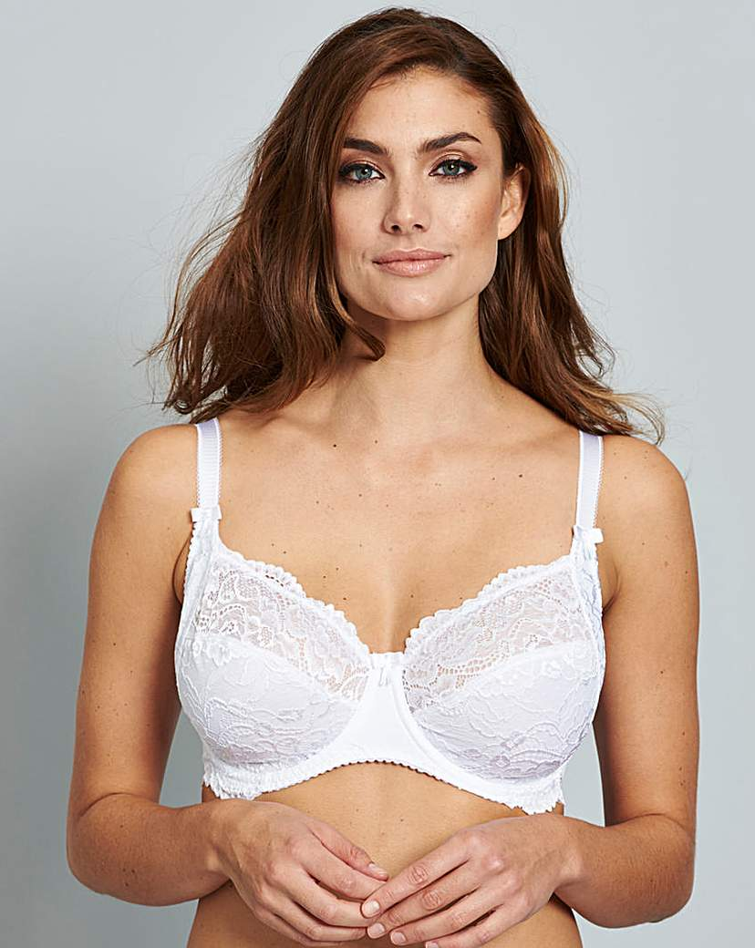 Pour Moi Eternal Lace Side Support Bra.