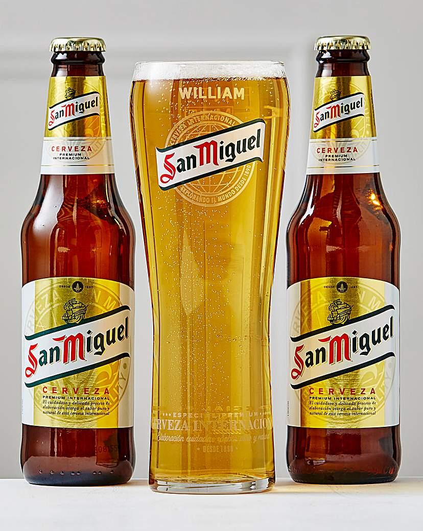 Personalised San Miguel Set