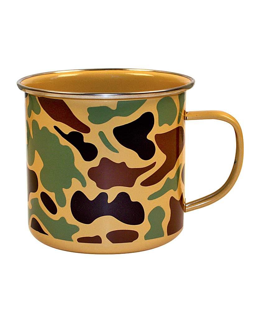 Image of Camo Enamel Mug