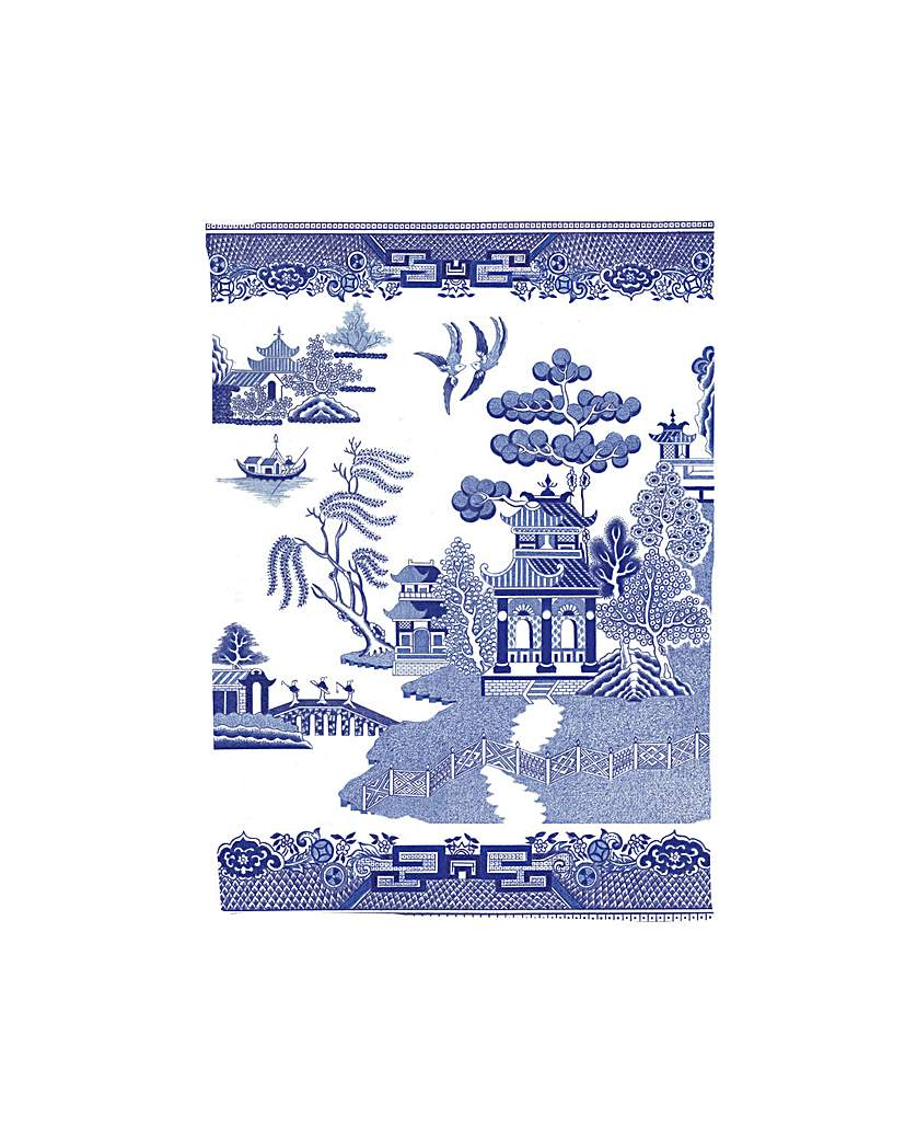 Image of Blue Willow Tea Towel