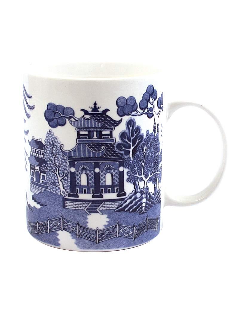 Image of Blue Willow New Bone China Mug