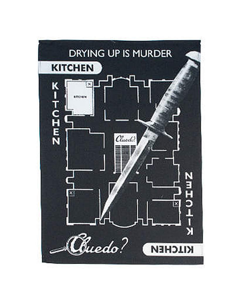 Image of Cluedo Tea Towel