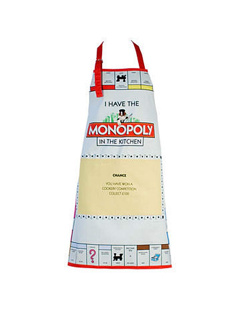 Image of Monopoly Apron Best Chef