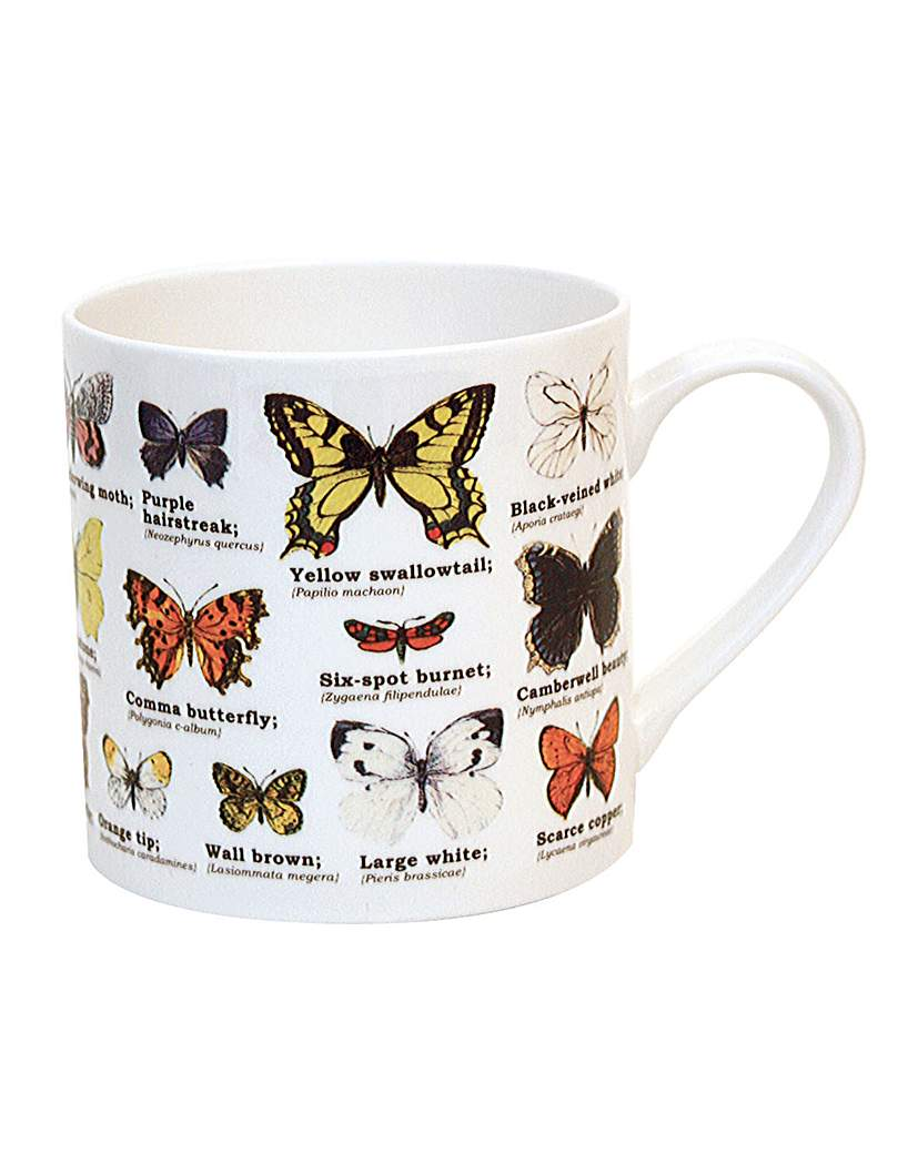 Image of Butterflies Bone China Mug