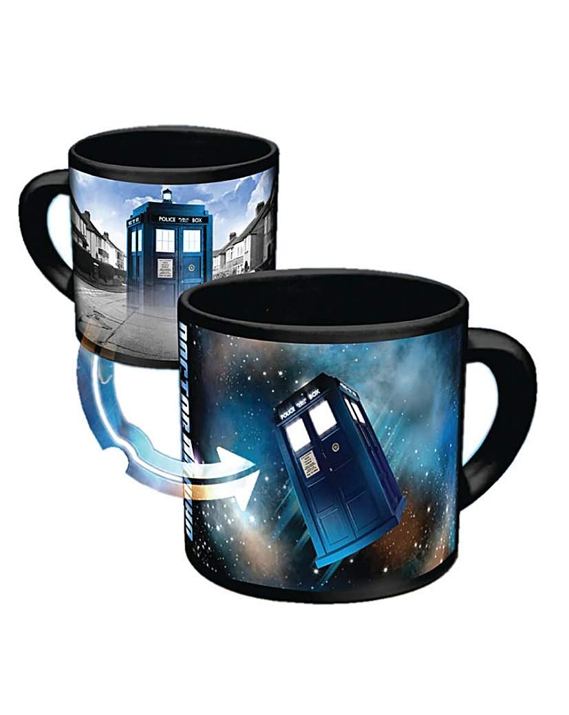 Image of Doctor Who Tardis Heat Reveal Mug