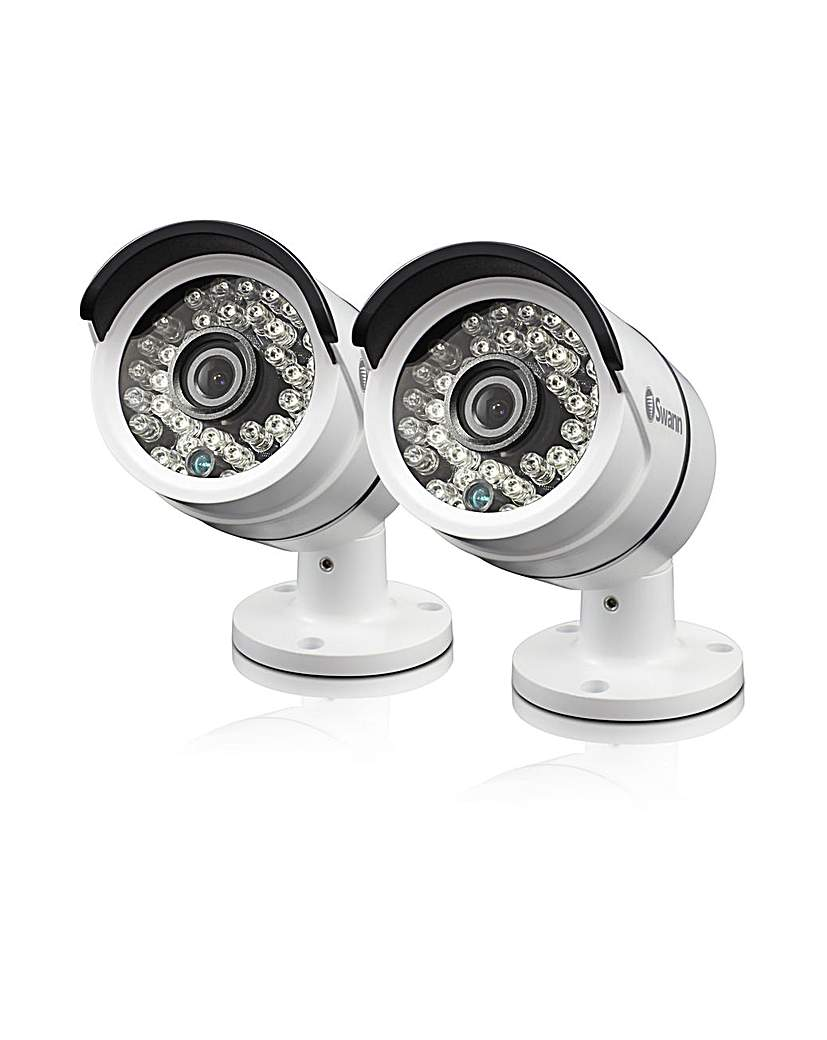 SWANN 1080P Bullet Camera Twin pack