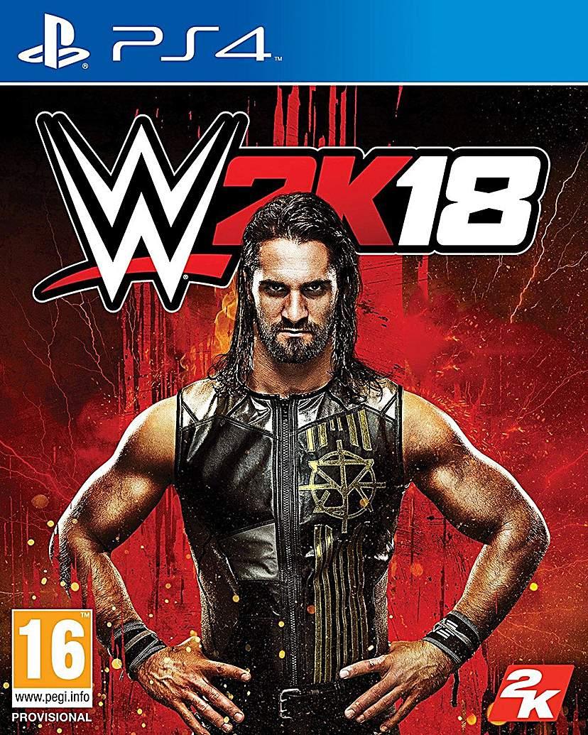 WWE 2K18 PS4