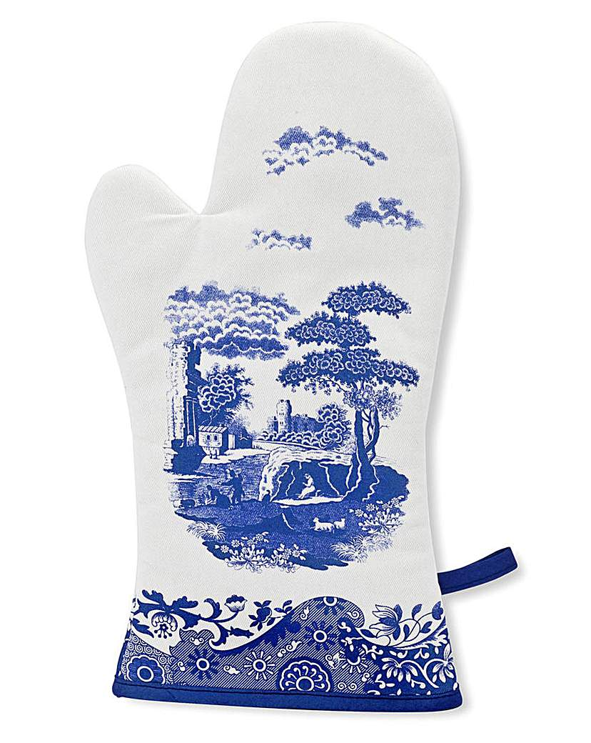 Image of Blue Italian Oven Glove