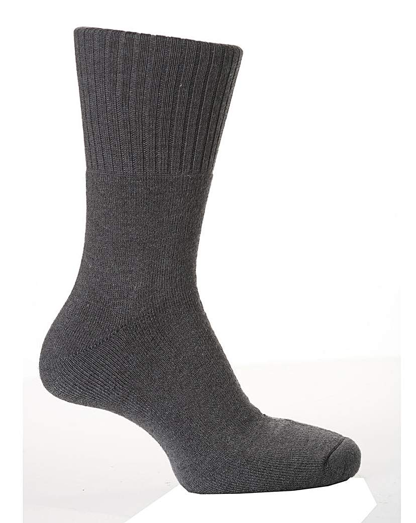 Sockshop Gentle Grip Cushioned Socks