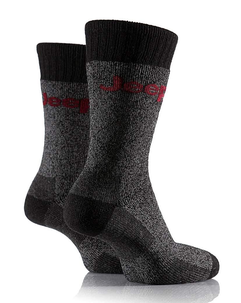 Jeep Chunky Boot Socks