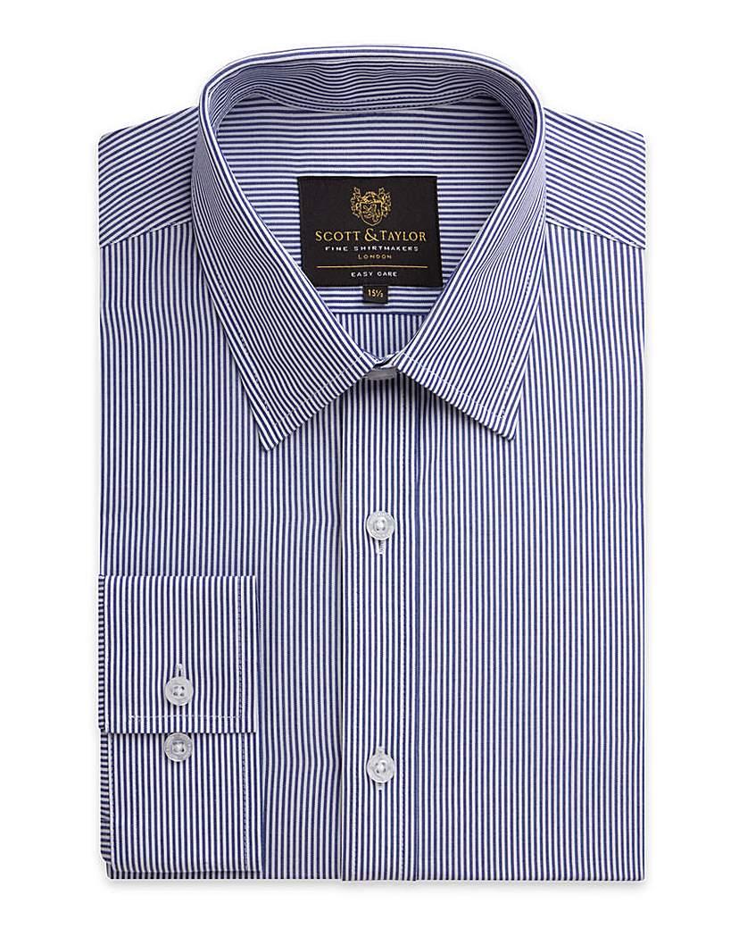 Scott & Taylor LS Stripe Shirt