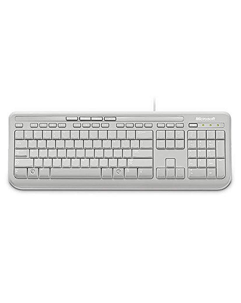 Wired Keyboard 600 White