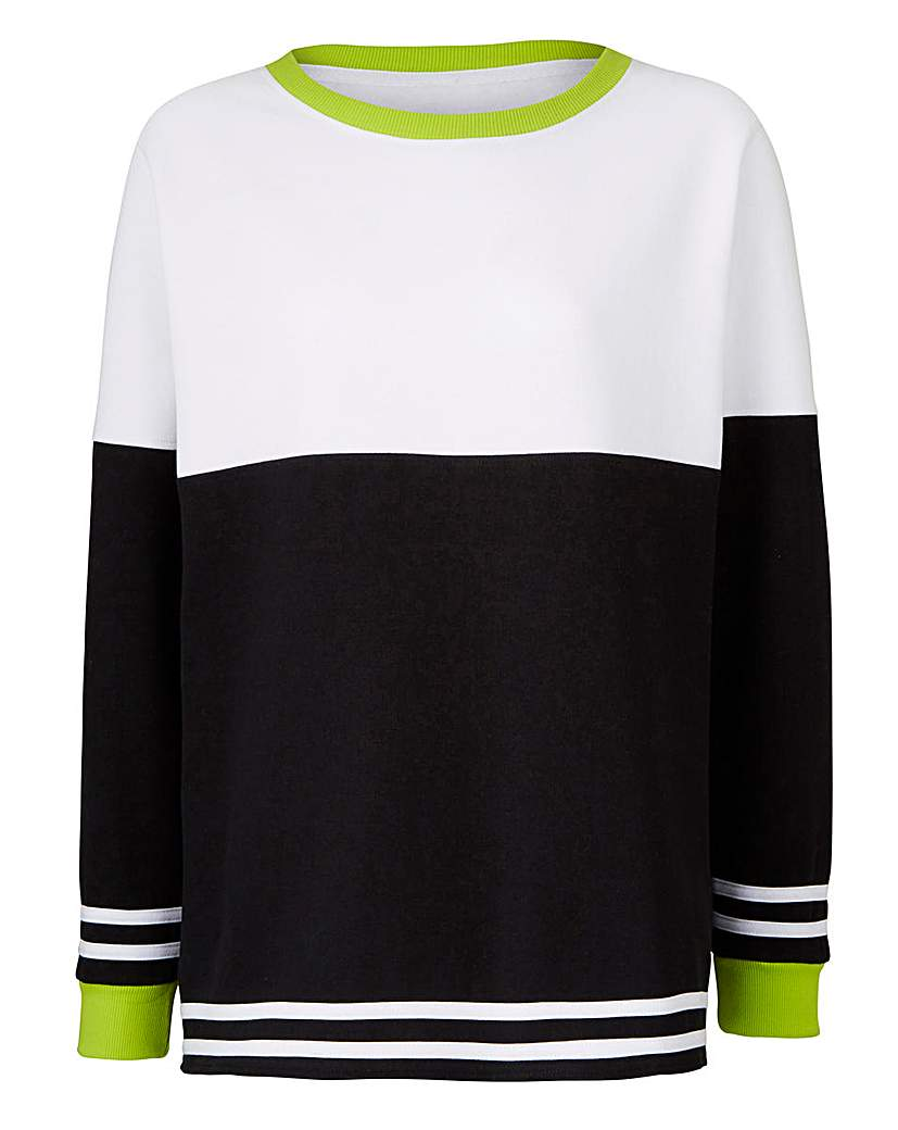 Image of Label Be Longline Sweater