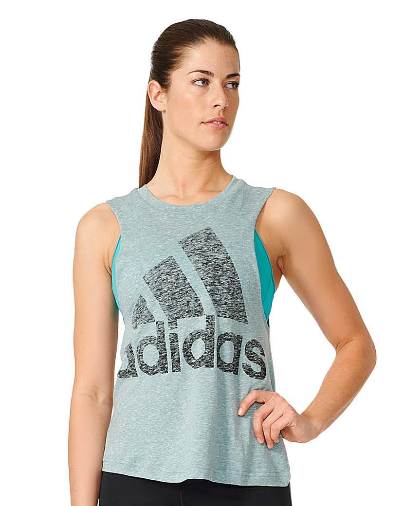 Image of Adidas Logo Sleeveless Vest