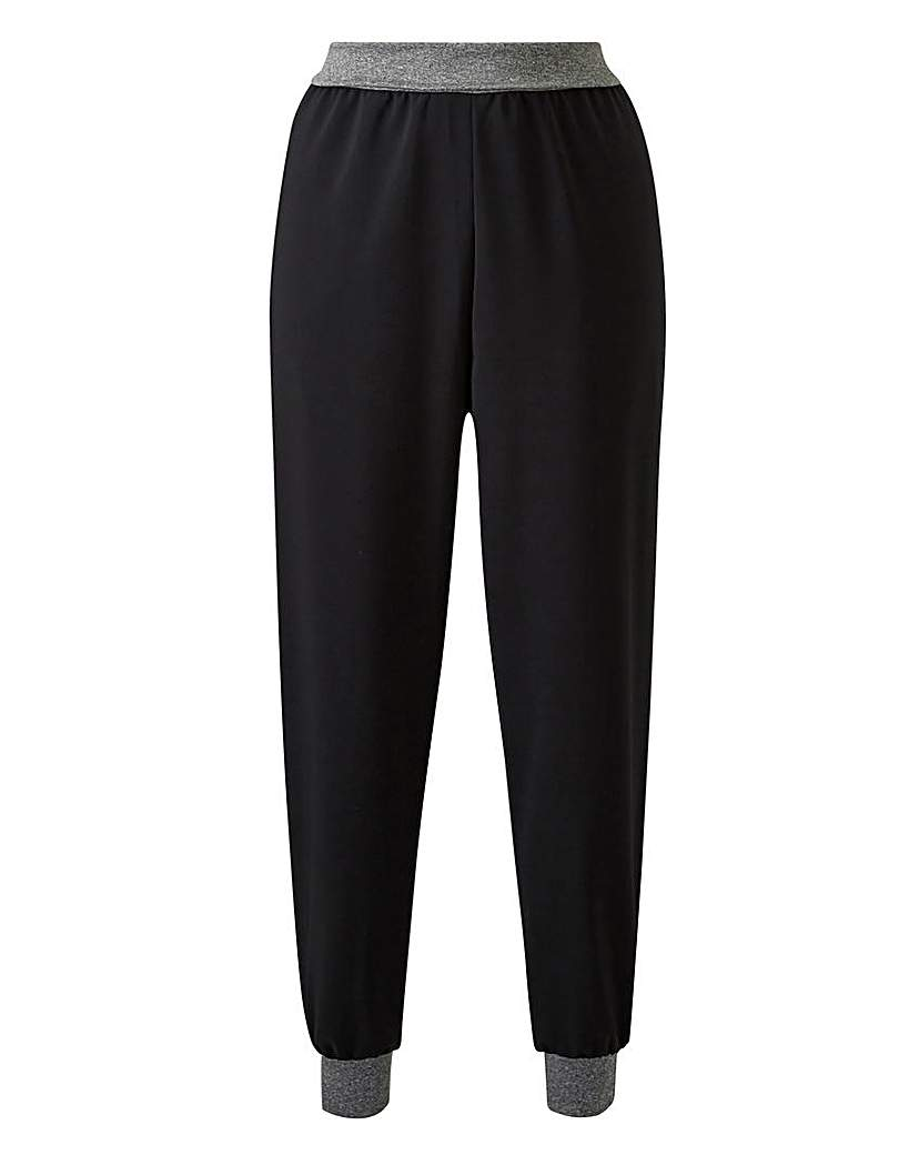 Capsule Contrast Woven Jogger