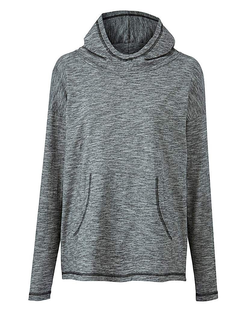 Image of Slouch Neck Hoodie