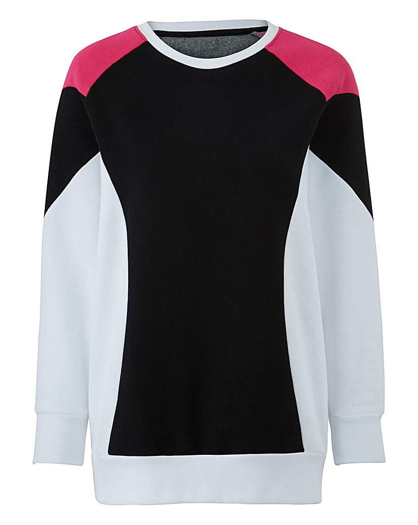 Capsule Colour Block Jumper