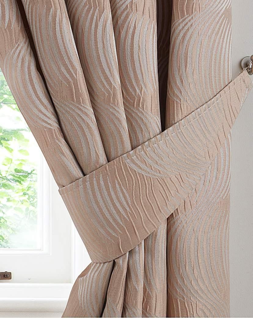 Image of Astoria Jacquard Tie Backs