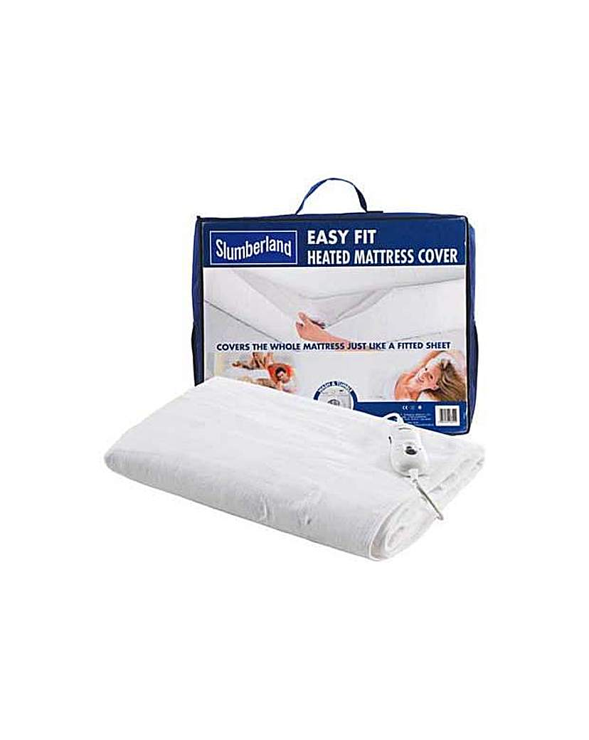 Image of Easy Fit Heated Mattress Cover - Double.