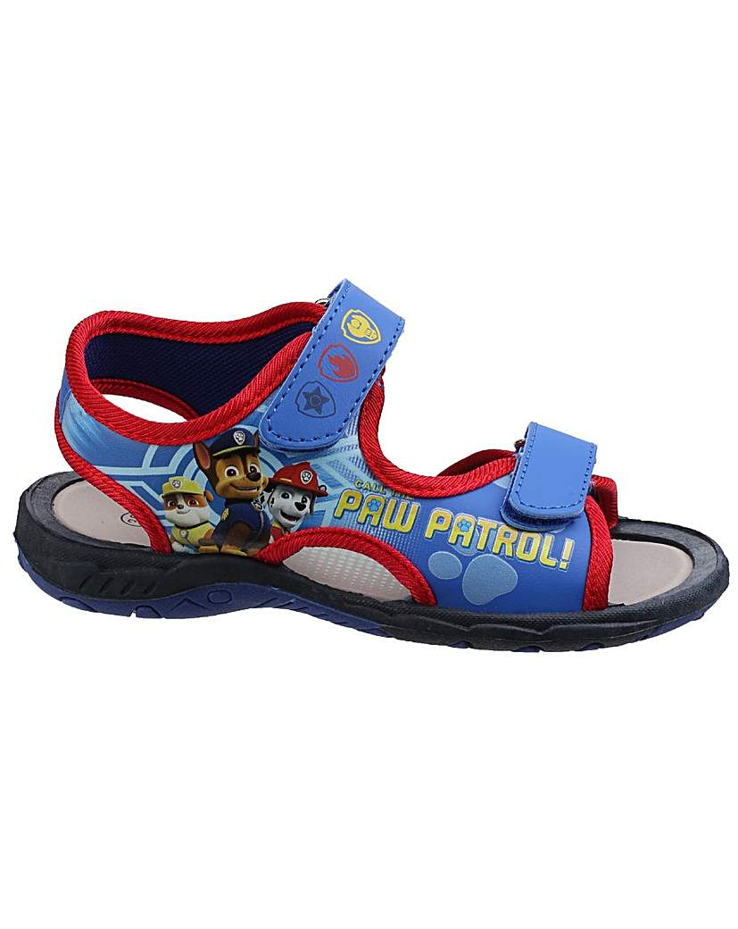 Image of Boys Paw Patrol Touch Fastening Sandal