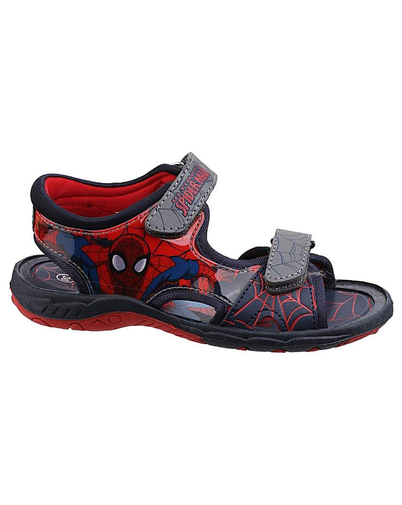 Image of Boys Spider-Man Touch Fastening Sandal