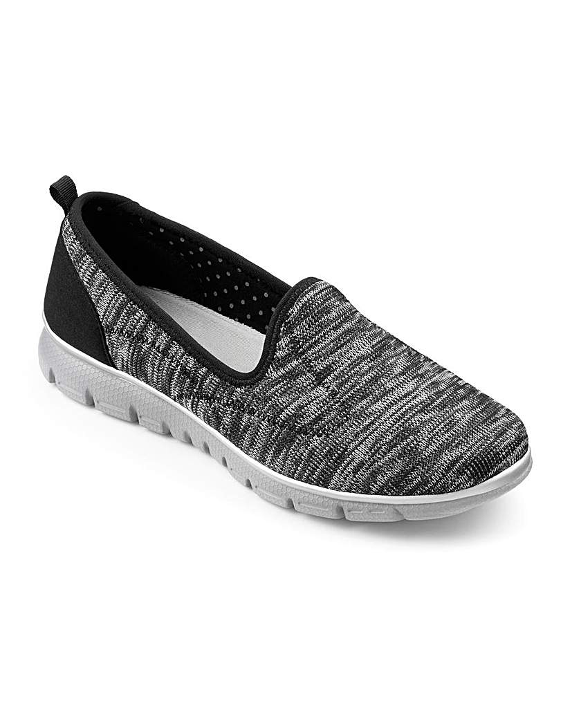 Hotter Cloud Slip On Shoes