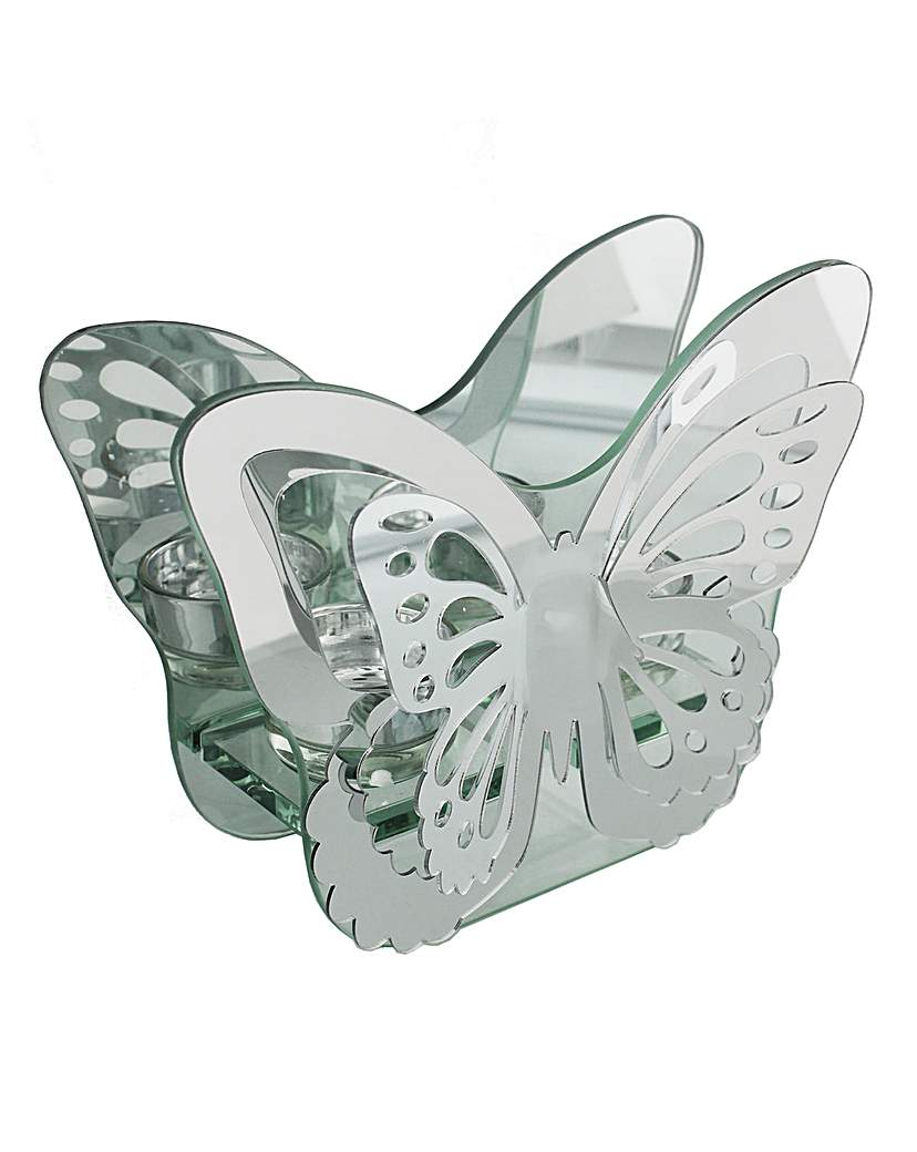 Image of Butterfly Shape Tea Light Holder