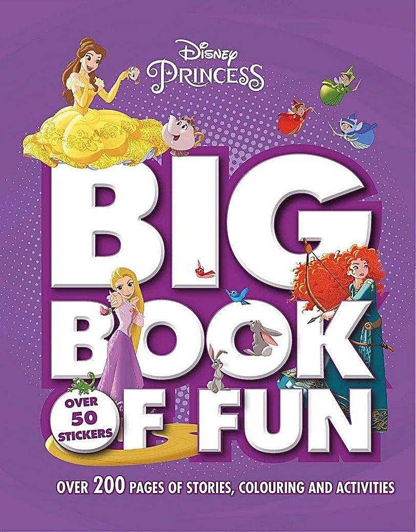 Image of Disney Princess Big Book Of Fun